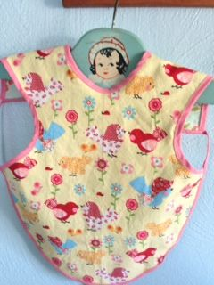 free baby apron pattern and tutorial, this one is still live