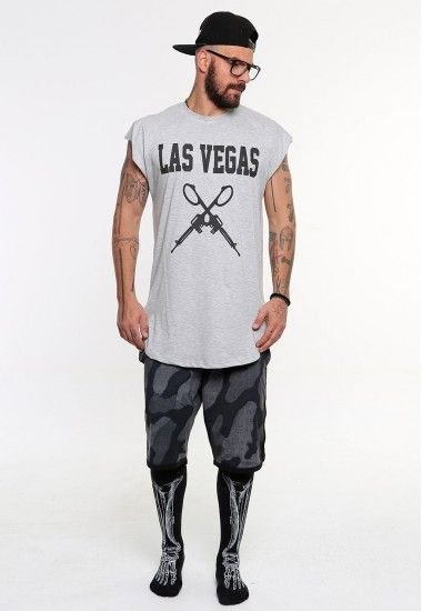 las vegas guns  #vagrancylifestyle #handmade #top #man #sleeveless #tshirt