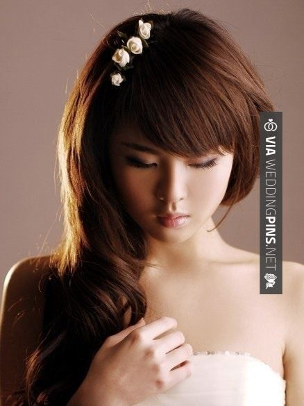 Love this! - Shoulder Length Wedding Hair - http://longhairstylesfor... Long Hairstyles: Long Wedding Hair Styles | CHECK OUT THESE OTHER FANTASTIC PICTURES OF NEW Shoulder Length Wedding Hair HERE AT WEDDINGPINS.NET | #shoulderlengthweddinghair #weddinghairstyles #weddinghair #hair #stylesforlonghair #hairstyles #hair #boda #weddings #weddinginvitations #vows #tradition #nontraditional #events #forweddings #iloveweddings #romance #beauty #planners #fashion #weddingphotos #we