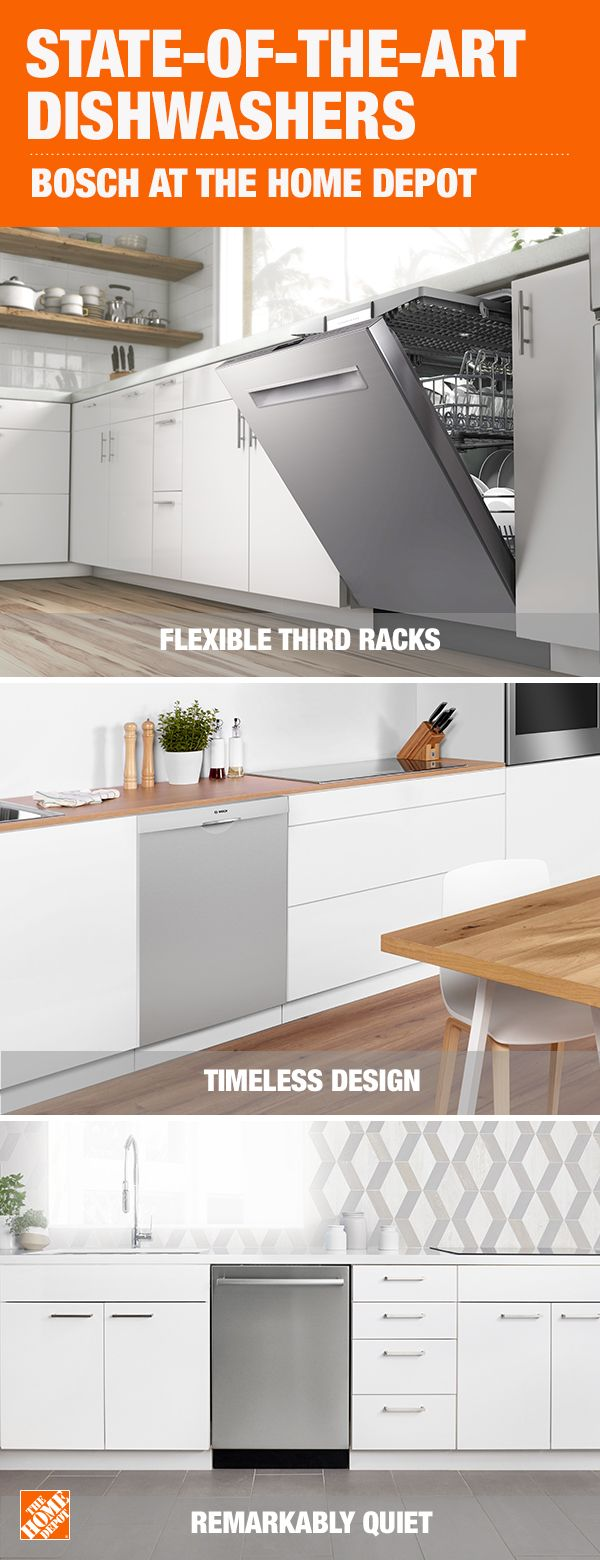 Bosch Dishwashers Flexible Designs To Fit Your Lifestyle Home