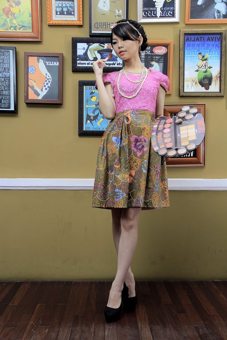Dress Batik | Dewi Uma Batik Dress | DhieVine | Redefine You