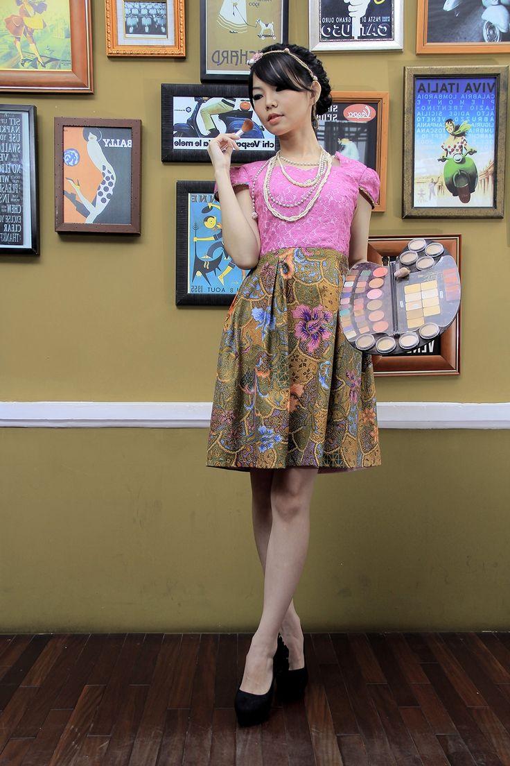 Dress Batik   Dewi Uma Batik Dress   DhieVine   Redefine You