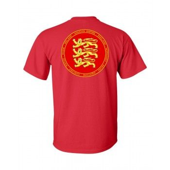 Angevin Empire Red & Gold Seal Shirt - William Marshal Store.com