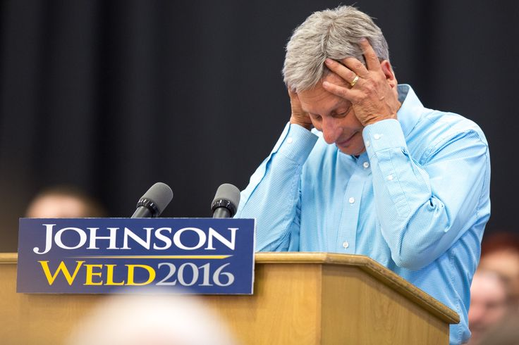 """Libertarian presidential candidate Gary Johnson blanked when asked by MSNBC host Chris Matthews """"who's your favorite foreign leader?"""""""