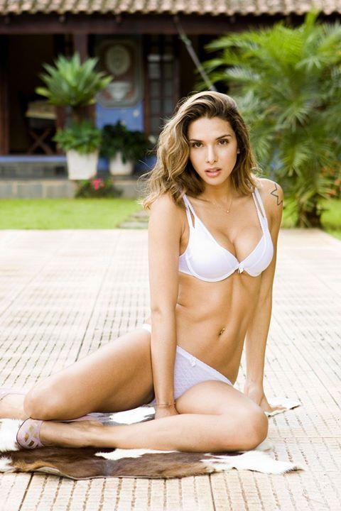 Sammy winward white bikini
