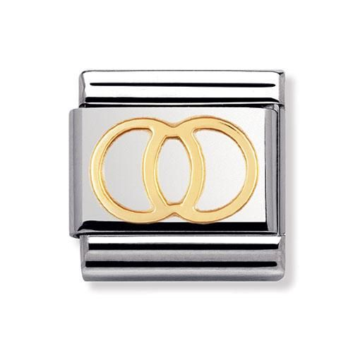 Nomination Composable Classic Wedding Rings Charm