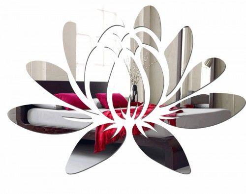 Nástenné akrylové zrkadlá v modernom dizajne