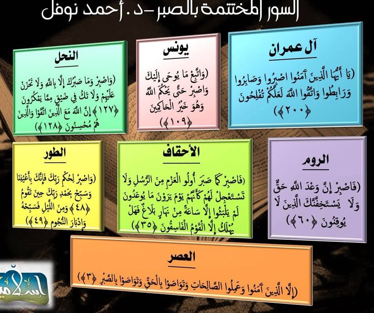 السور ختمت بالصبر في القران Quotes Quran Holy Quran