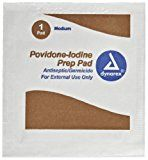 Pac-Kit by First Aid Only 12-015 Antiseptic Povidone PVP Iodine Wipe (Box of 10)