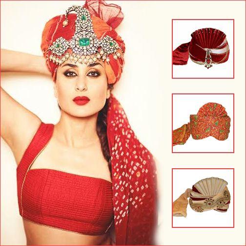 Introducing Wedding #Turban Collection From Sareez.com  http://www.sareez.com/Sherwani-Mens/Accessories/Turban/   #turban #Sareez #Menswear #SareezEthnic #Kareena #TurbanForMen  Kareena's Image : pinterest.com