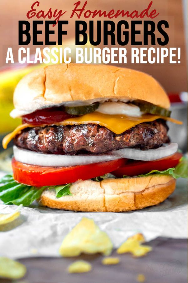 Ultimate Burger Recipe Step By Step Tutorial Alyona S Cooking Recipe In 2020 Ultimate Burger Recipe Burger Recipes Beef Classic Burger Recipes