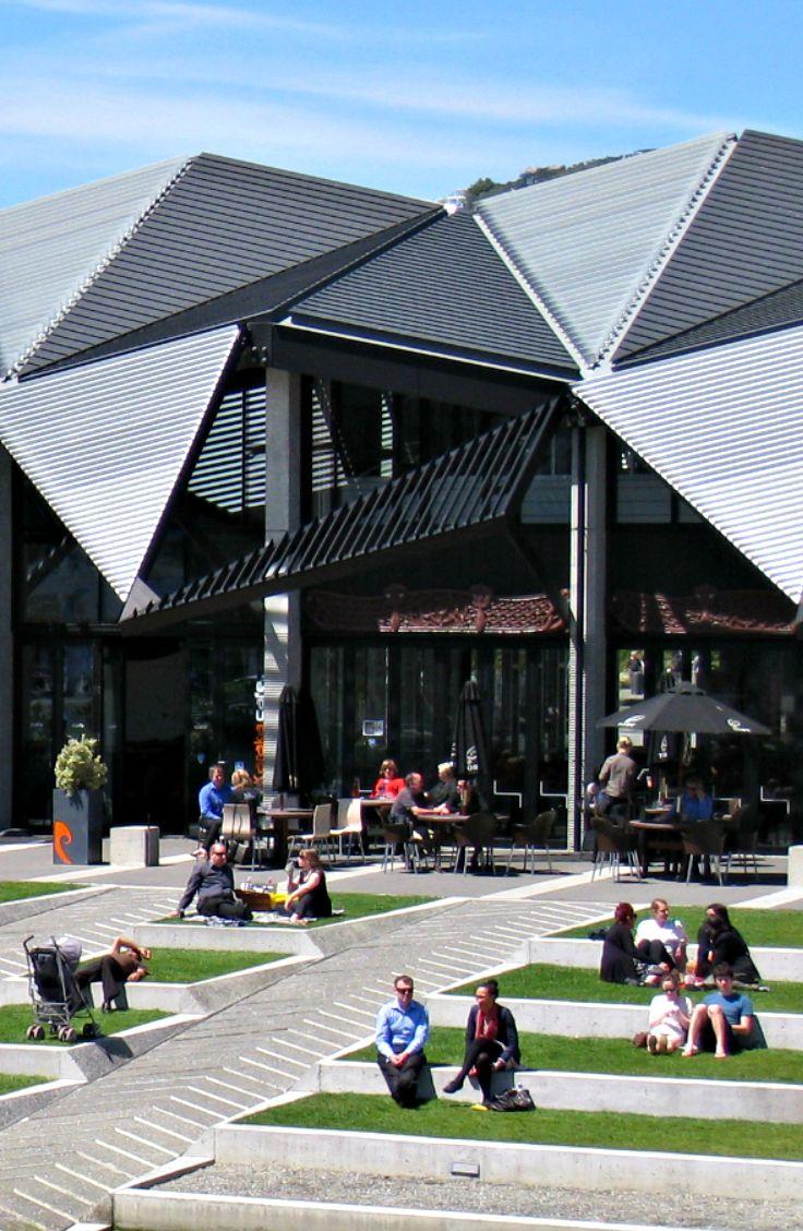 Te Wharewaka o Poneke, Wellington. New Zealand