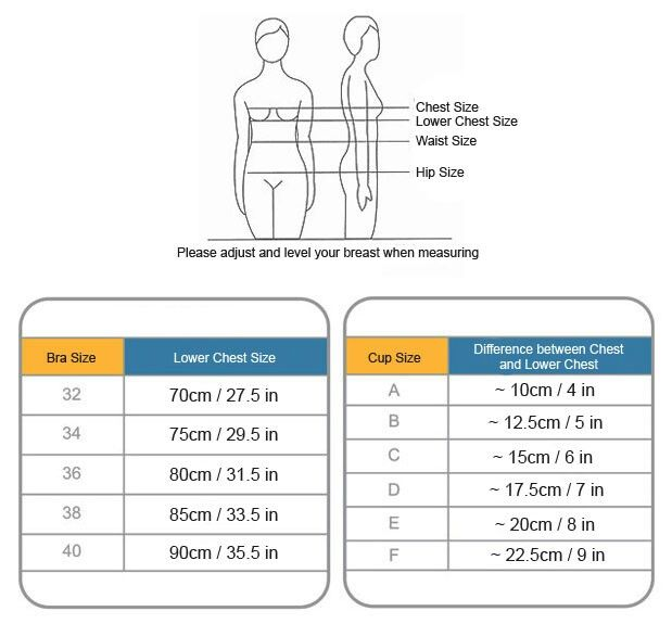 How To Measure Your Bra Size Correctly. (With Images