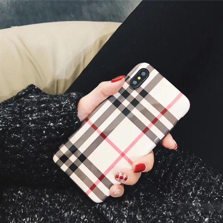 ef8f932a2d バーバリー iPhoneX ハードケース チェック柄 アイホン8 カバー Burberry アイホン7/6s プラス ケース