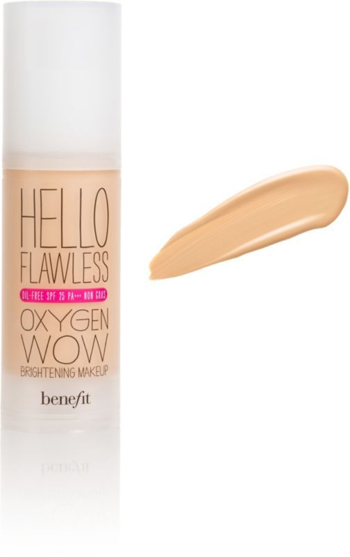 Benefit Cosmetics This is a semi sheer foundation that looks very natural like your own skin even in daylight!  Best to make in store match for skin tone..