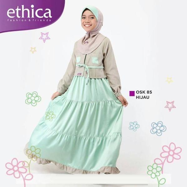 Jual beli Baju Gamis Muslim Anak OSK 85 Hijau - BIG SALE di Lapak Aprilia Wati - agenbajumuslim. Menjual Busana Muslim Anak Perempuan - PASTIKAN STOK READY SEBELUM TRANSAKSI !!!!!!  Baju Gamis Muslim Anak OSK 85 HIJAU Kode OSK 85 HIJAU Ready Size :  1 - 5 BAHAN : JACQUARD HUMMY, SATEN MAXMARA SIZE : Size 0. Rp 214.800 Size 1. Rp 222.800 Size 2. Rp230.800 Size 3. Rp 238.800 Size 4. Rp 246.800 Size 5. Rp 254.800 Size 6. Rp 262.800 Size 7. Rp 270.800 Size 8. Rp 278.800 Size 9. Rp 286.800 Size…
