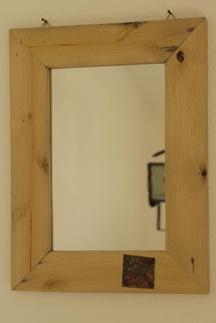 Oltre 25 fantastiche idee su specchio con cornice in legno su pinterest specchi progetto in - Specchio con cornice ...