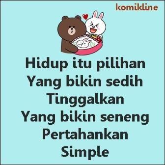 hidup itu simple