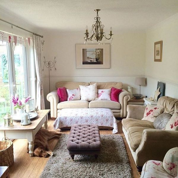 Cozy Small Living Room Ideas Suitable, Pictures Of Cottage Style Living Rooms