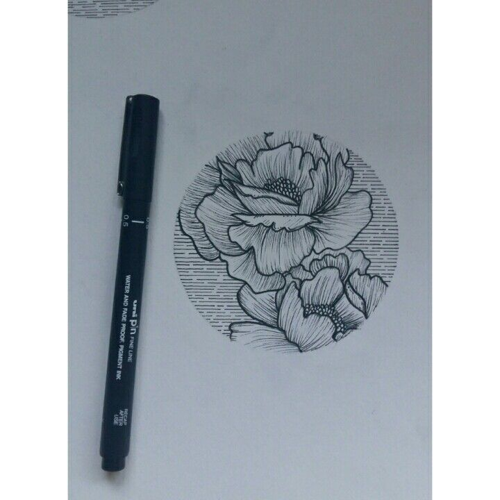 Peony line work tattoo tattoos pinterest peonies for Tattoo line work
