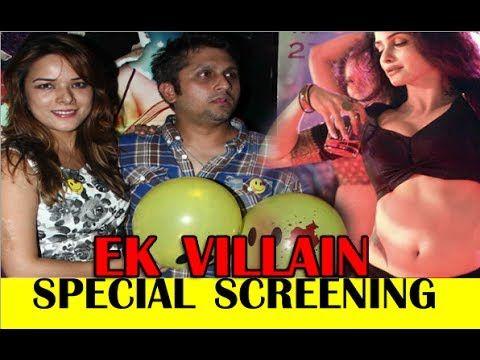 Ek Villain Movie Special Screening, Promotion at Yeh Hai Mohabbatein & C...