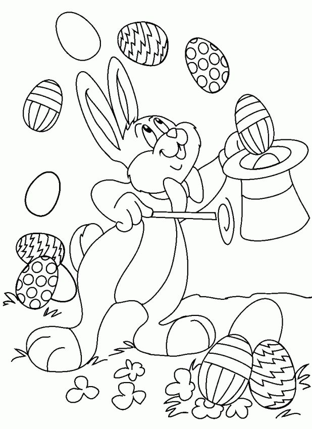 Adult Printable Easter Coloring Pages Free For Toddlers Pad