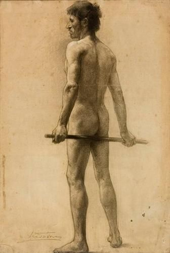 Male nude - Paul Mathiopoulos