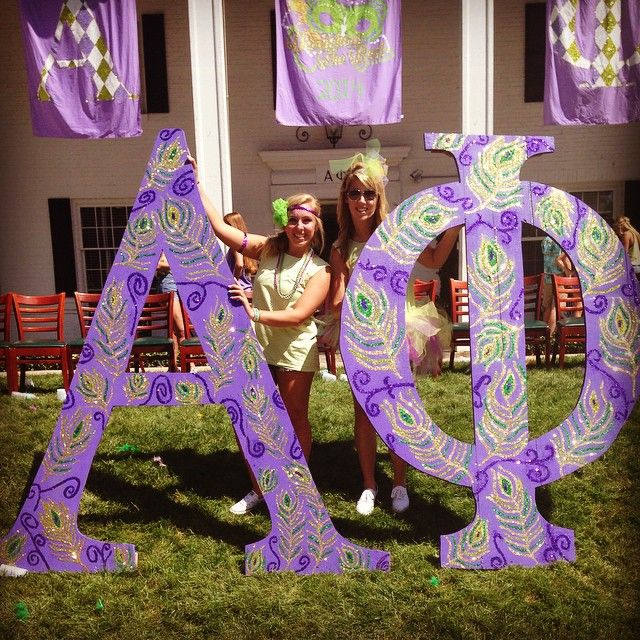 Alpha Phi at University of Missouri #AlphaPhi #APhi #BidDay #letters #sorority #Mizzou