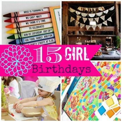 15 Fabulous Girl Birthday Ideas