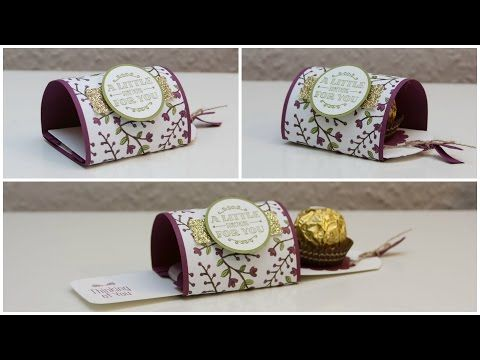 A Little Something - Herbstliche Ziehverpackung - Stampin' Up! - YouTube