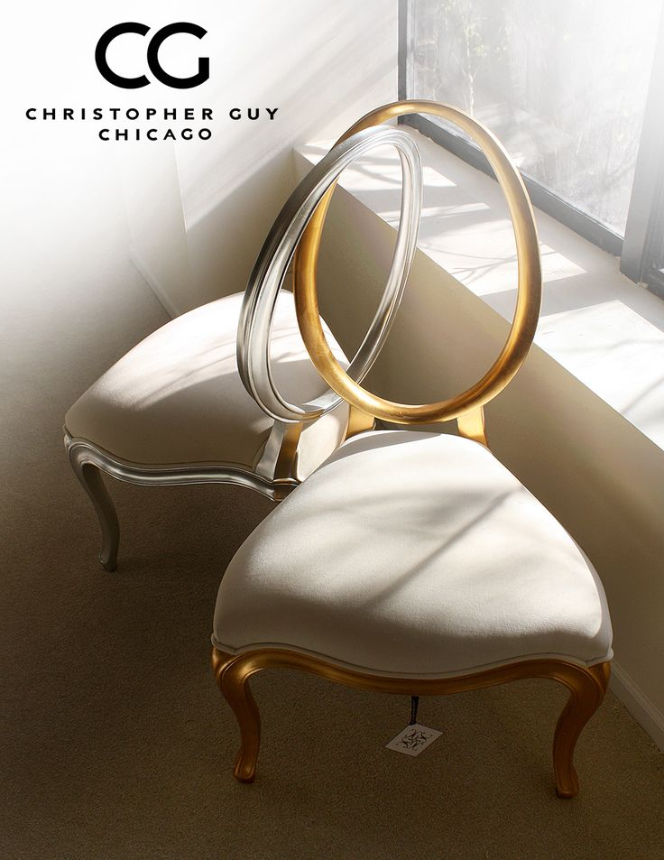 Chicago Luxury Furniture Floor Sample Sale. Ends 12/15. These Christopher Guy locked chairs are available for immediate showroom purchase! Call Chris @312.988.9600