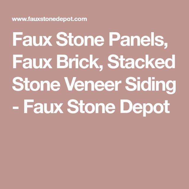 Best 25 Faux Stone Veneer Ideas On Pinterest Faux Stone