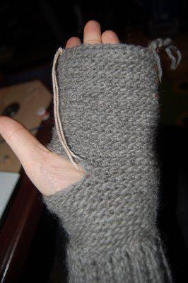 Virka resår!   Bildserie till virkade vantar med ribbadmudd - Crochetra