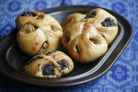 Poppy Seed Cranberry Kolaches made with #CrownMaple