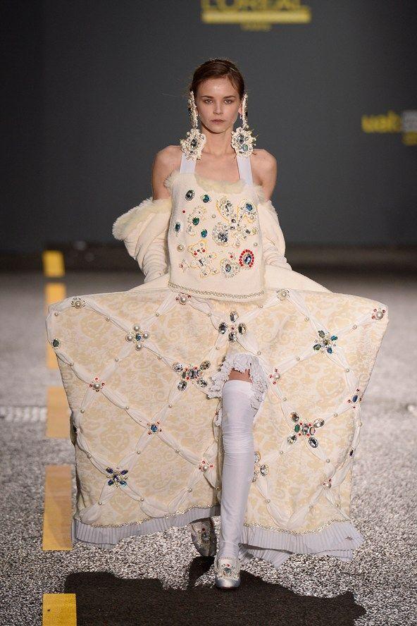 Love this - Central Saint Martins BA fashion show