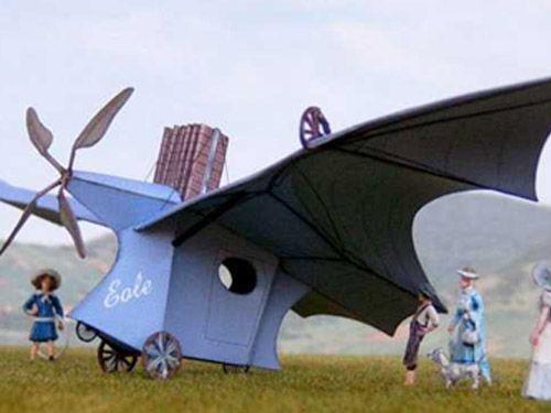 Máquina voladora Eole