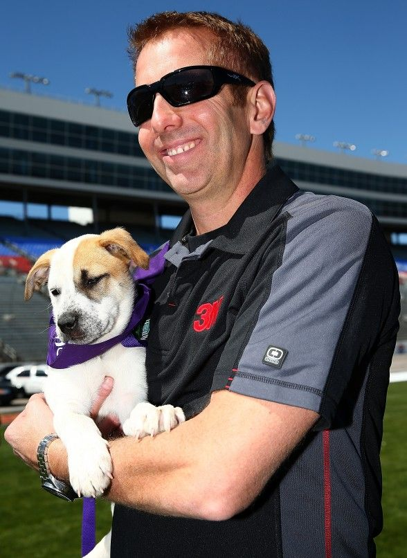 """Dog Day Afternoon"" With NASCAR Driver Greg Biffle"
