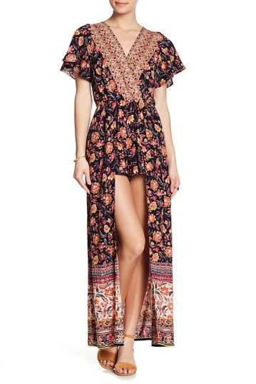 44dbc93efa64 Image of Angie Maxi Step-Through Floral Romper