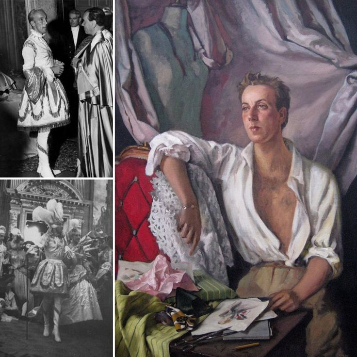 Do you follow #JohnAdamsFineArt on #Instagram yet? If the answer is no, we highly recommend it! Yesterday we posted about our #MondayMuse, the late Parisian fashion designer #JacquesFath, as seen below. This fabulous portrait (pictured right) is currently available at the Gallery on The Pimlico Road! Also pictured are two photographs of the renowned designer at the fabled 1951 costume Ball of Palazzo Lavia, Venice, given by Charles de Beistegui, where Fath dressed as the Sun…