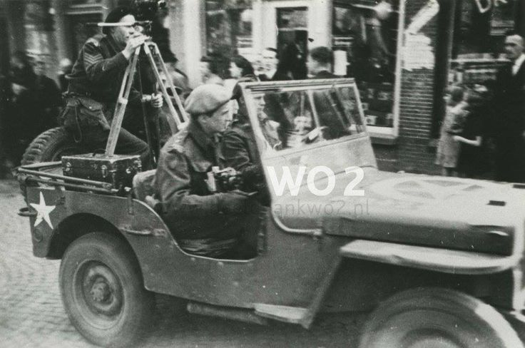 Unidentified CFPU section at the liberation of Leeuwarden, Netherlands 15 April 1945