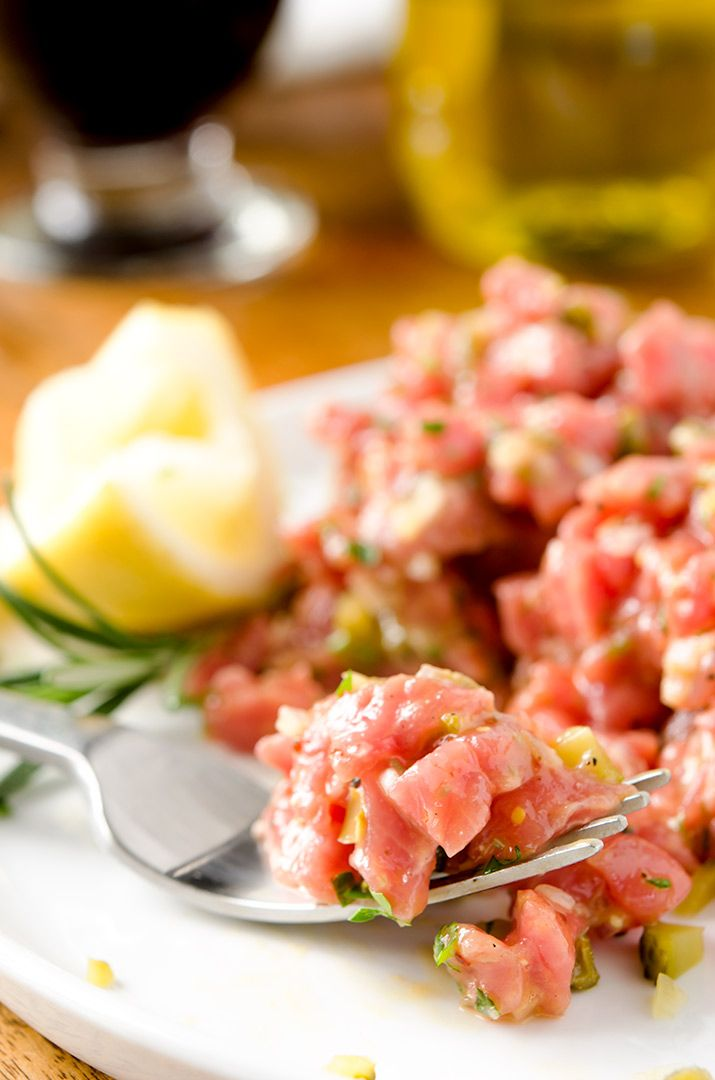 Tender Steak Tartare Recipe