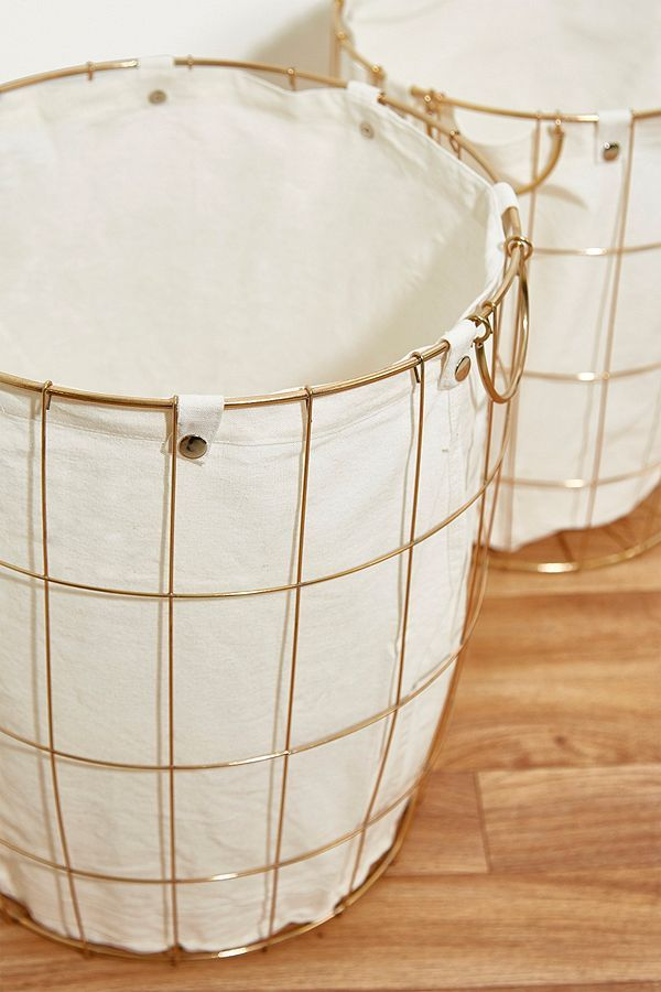 Slide View: 3: Wire Wash Basket Set