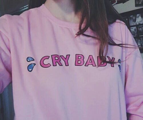pink, cry baby, and tumblr