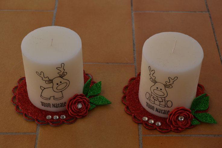 Trasferimento dei timbri de La coppia creativa su candela