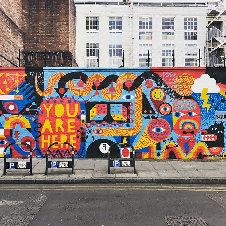 David Shillinglaw  #mural #artist #illustration #drawing #urban #art #street #st…   – Art und Kunst