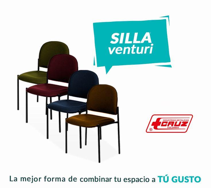 Elegancia y confort en un solo producto. Logramos que tus invitados siempre se sientan cómodos en cualquier espacio, pregunta por nuestra silla venturi en nuestras líneas de atención al cliente: 744 34 74 en Bogotá