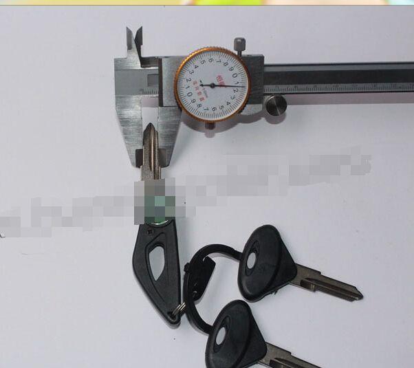 Для BJ600GS Qianjiang маленький серебряный клинок Синий Дракон Baolong БН-600 BJ300GS key lock пустой пустой