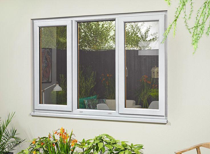 Ultra White Triple Window 1770mm x 1050mm