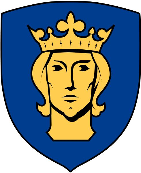 Coat of arms of the municipality of Stockholm, Sweden.