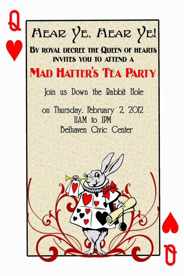 Tea Party Bridal Shower Invitation Wording with beautiful invitation design